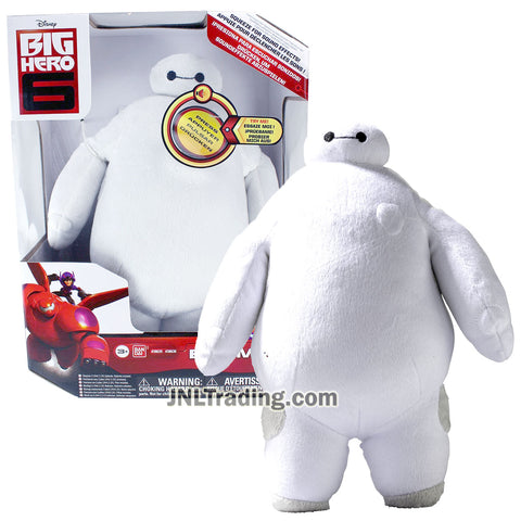 Year 2015 Disney Big Hero 6 Movie 10 Inch Tall Electronic Plush Figure - BAYMAX with Sounds FX