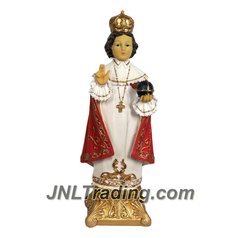 Giovanni Giftware Collection Religious Home Decor Catholic Saints Series 16 Inch Tall Figurine - INFANT OF PRAGUE CHILD JESUS (D28134)