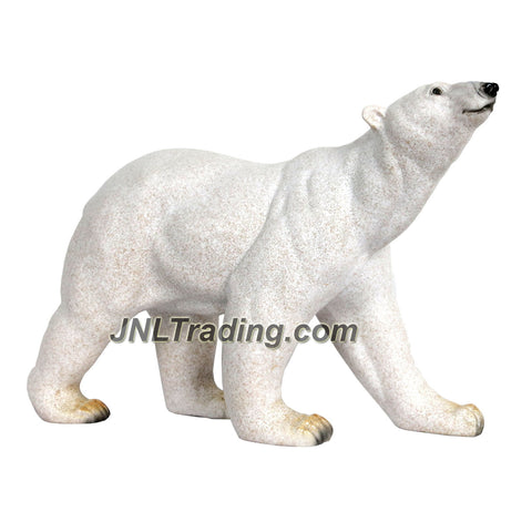 "Amy and Addy Collection Series Wildlife Animal Resin Large Decorative Statue - POLAR BEAR (Dimension: 14"" x 10"" x 5"")"