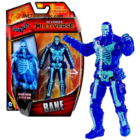 "Mattel Year 2014 DC Comics Multiverse Batman Arkham Origins Series 5"" Tall Figure - Detective Mode BANE (CHX65)"