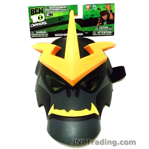 Cartoon Network Year 2013 Ben 10 Omniverse Series Action Figure Mask - SHOCKSQUATCH with Velcro Strap