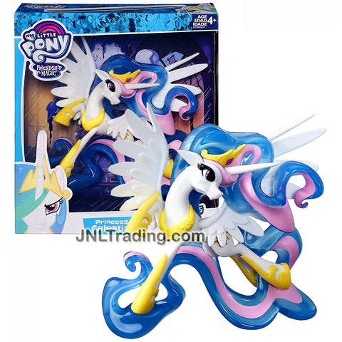 My Little Pony Year 2015 Friendship Magic Guardian of Harmony Fan Series 7 Inch Tall Figure - PRINCESS CELESTIA