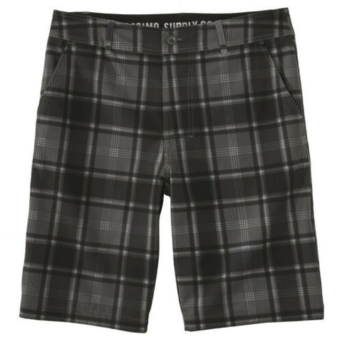 NEW Mossimo Men Stretch Hybrid Swim Suit Trunks Board Shorts Surf Pants Plaid