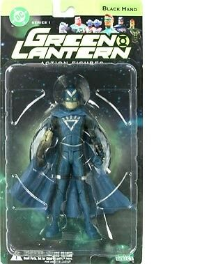 "NEW 2005 DC Direct Comics Green Lantern 6.5"" Tall Action Figure BLACK HAND"
