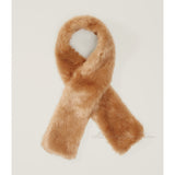 Ann Taylor LOFT Beautiful Glamour Luxurious Warm Faux Fur Crossover Scarf