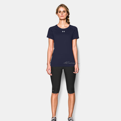 66706f1cd247 Under Armour Women s Workout Short Sleeve Heat Gear Shirt – JNL Trading