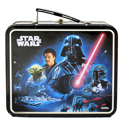 Thermos Metal Classic Disney STAR WARS TIN Lunch BOX Collector Collection