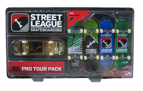 NEW Street League Skateboarding SLS Pro Tour Pack Gold Mikey Taylor 5 Skateboard