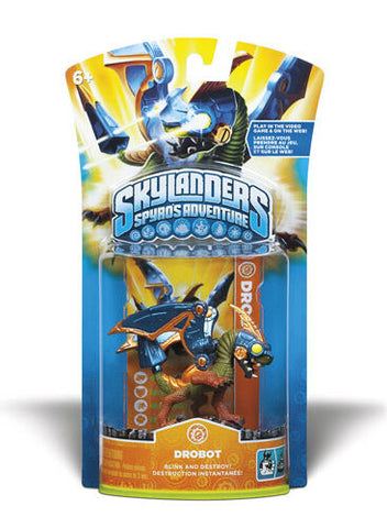 NIB HOT Skylanders Spyro's Adventure Action Figure DROBOT Skylander RARE