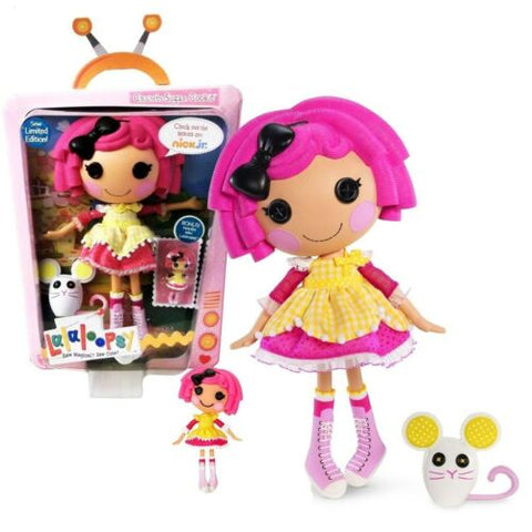 "NEW Lalaloopsy Limited Edition 12"" Button Doll Crumbs Sugar Cookie Mouse +BONUS"