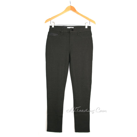 CK Calvin Klein & Co. Women Stretch Ponte Pants Legging Skinny Leg Pant