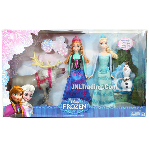 "Disney Frozen Friend Exclusive Collection Doll Anna Elsa Olaf Sven Exclusive 12"" Figure"