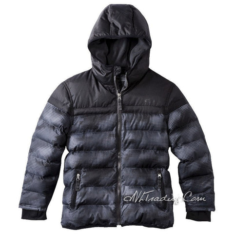 C9 Champion Boy Hooded Puffer Jacket Warm Winter Coat Hand warmer
