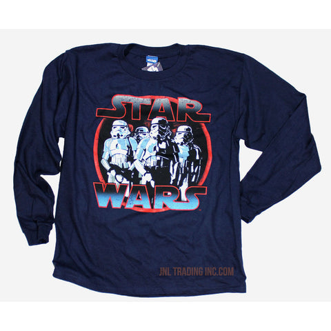 Star Wars Lucasfilm Official Starwars Stormtroopers T-Shirt Boys License Tee