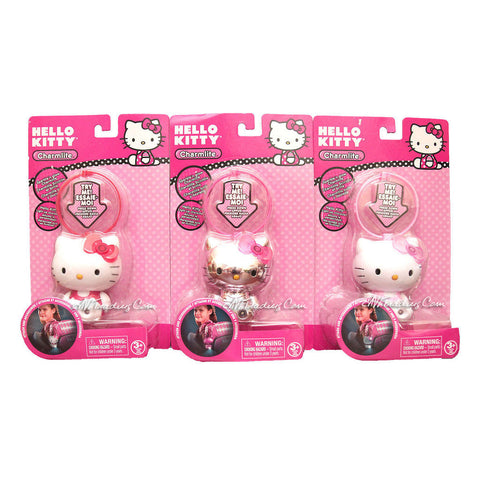 Sanrio HELLO KITTY Charmlite Sparkle 'n Glow Charm Lite Light up Character