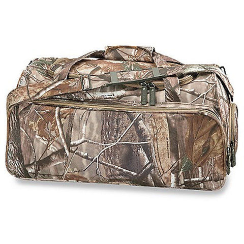 CAMO Trendy Realtree Camouflage Duffel Bag Gym Hunting Camping Fishing Tote