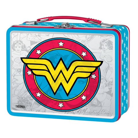 92a752b5add8 Thermos Metal Wonder Woman TIN Lunch BOX Collector Classic Series Coll –  JNL Trading