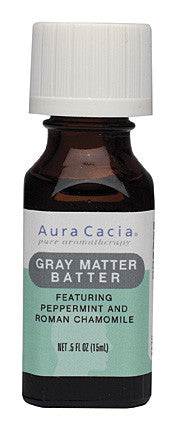 Aura Cacia Gray Matter Batter Essential Solution
