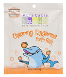 Aura Cacia Kids Cheering Foam Bath - Sweet Orange & Tangerine