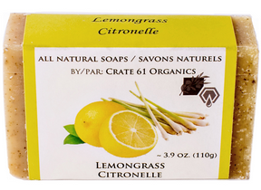 Crate 61 Organics Inc. Lemongrass Soap