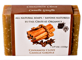Crate 61 Organics Inc. Cinnamon Clove Soap