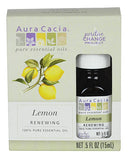 Aura Cacia Boxed Essential Oil- Lemon