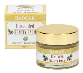 Badger Balm Unscented Beauty Balm For Sensitive Skin