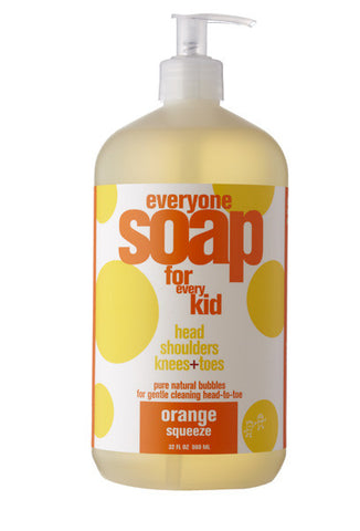 Everyone Kids 3 in 1 Soap - Orange Squeeze