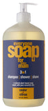 Everyone Men's 3 in 1 Soap - Cedar & Citrus