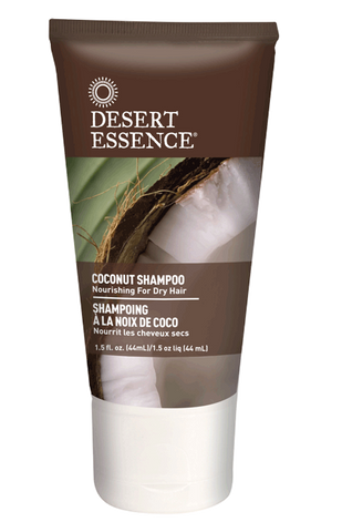 Desert Essence Coconut Shampoo Travel Size