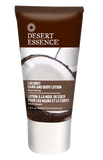 Desert Essence Coconut Hand & Body Lotion Travel Size