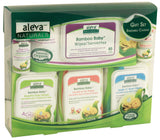 Aleva Naturals Baby Wipes Gift Set