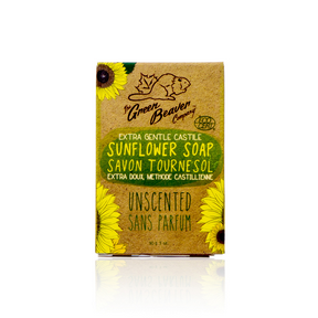 Green Beaver Castille Unscented Soap Bar