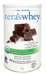 Tera's Organic Fair Trade Certified Dark Chocolate Whey Protein