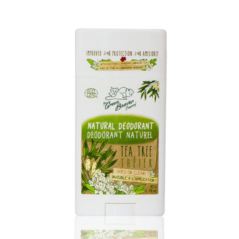 Green Beaver Tea Tree Deodorant Stick