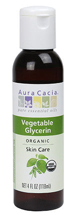 Aura Cacia Organic Vegetable Glycerin
