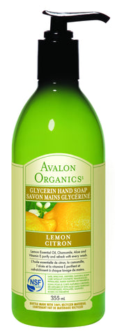 Avalon Organics Lemon Hand Soap