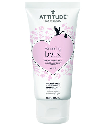 Attitude Blooming Belly Natural Nursing Balm Argan