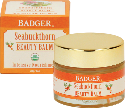 Badger Balm Seabuckthorn Beauty Balm For Dry Skin