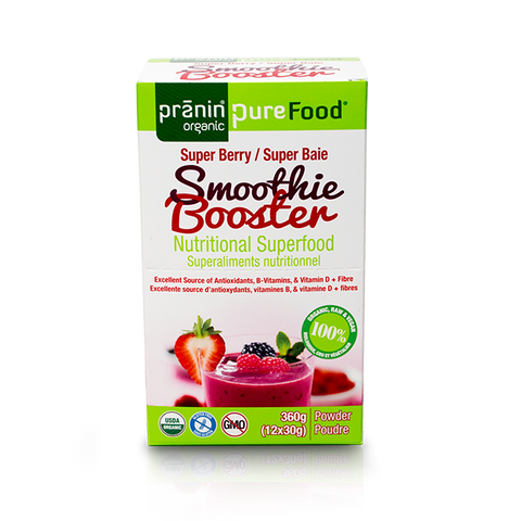 Pranin PureFood Smoothie Booster Super Berry