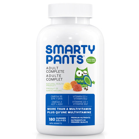 SmartyPants Adult Complete 180 ct