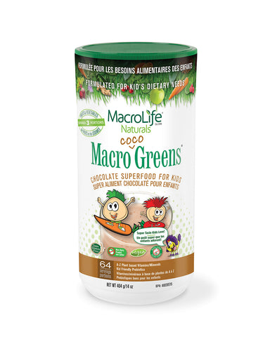 MarcoLife Jr. Macro Coco Greens Canister