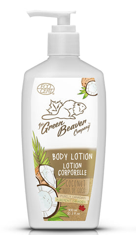 Green Beaver Coconut Body Lotion