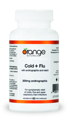 Orange Naturals Cold & Flu with Andrographis