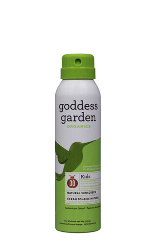 Goddess Garden Continuous Spray Kids SPF 30