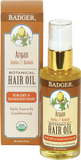 Badger Balm Argan Hair Oil For Dry, Damaged Hair
