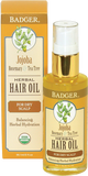 Badger Balm Jojoba Hair Oil For Dry Scalp