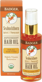 Badger Balm Seabuckthorn Hair Oil For All Hair Types