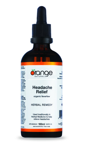 Orange Naturals Headache Relief Tincture