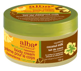 Alba Botanica Nourishing Coconut Milk Body Cream